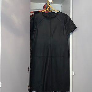 Zara Leather Dress - New